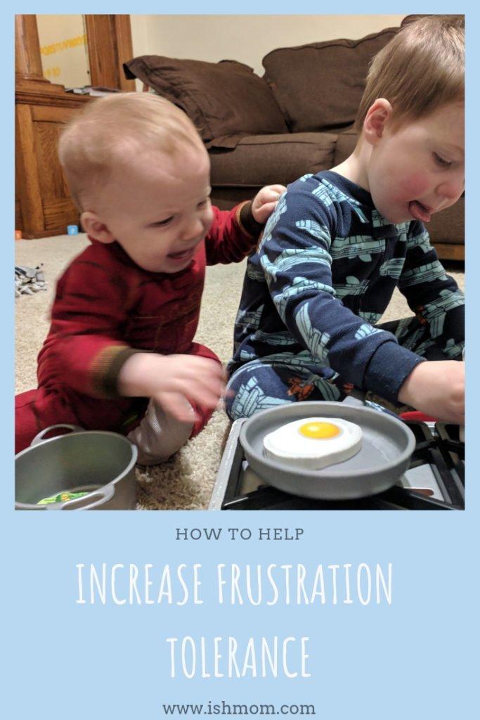 Increasing Frustration Tolerance of Non-verbal Toddler