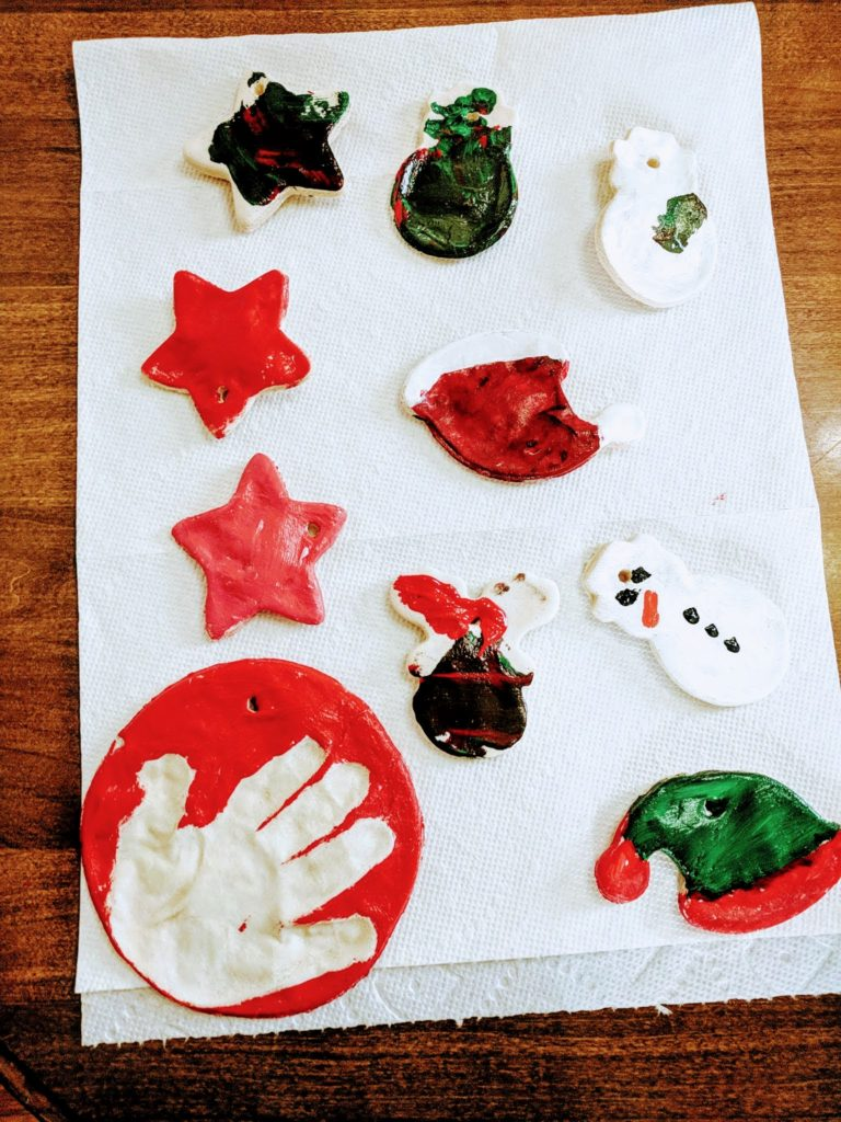 easy homemade dough ornaments from ish mom