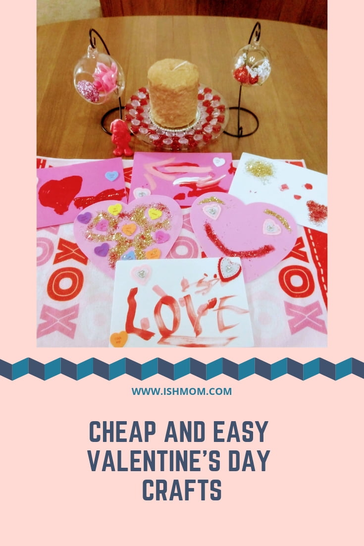 11 cheap and easy valentine's day crafts
