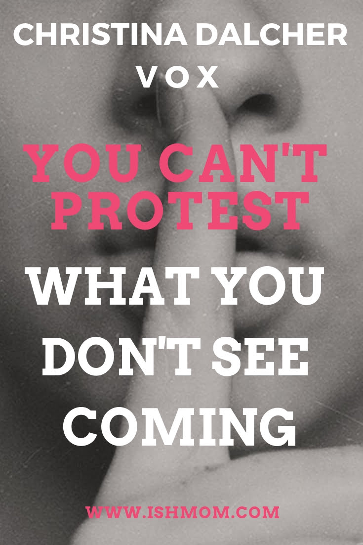 You cant protest