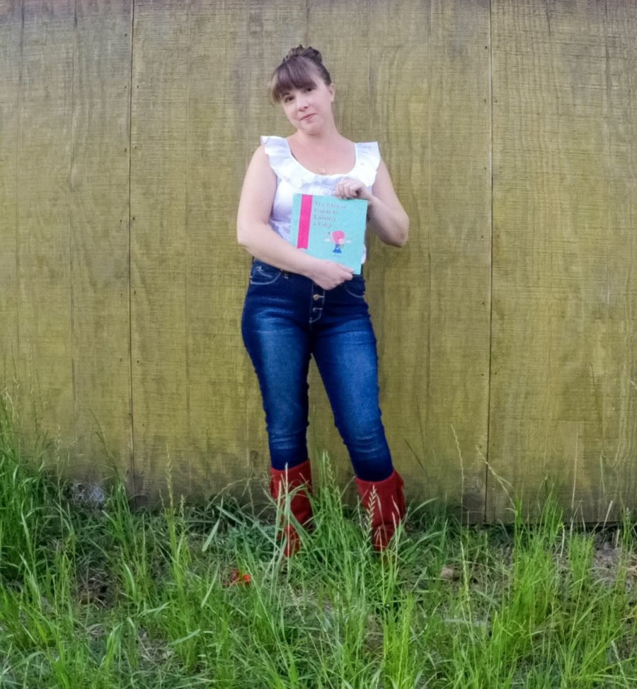 Trina Folse and her book The Uterus' Guide To Raising A Baby