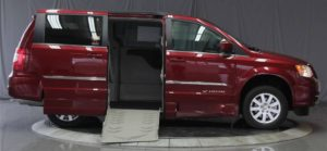 2016 Chrysler Town Country with Wheelchair ramp