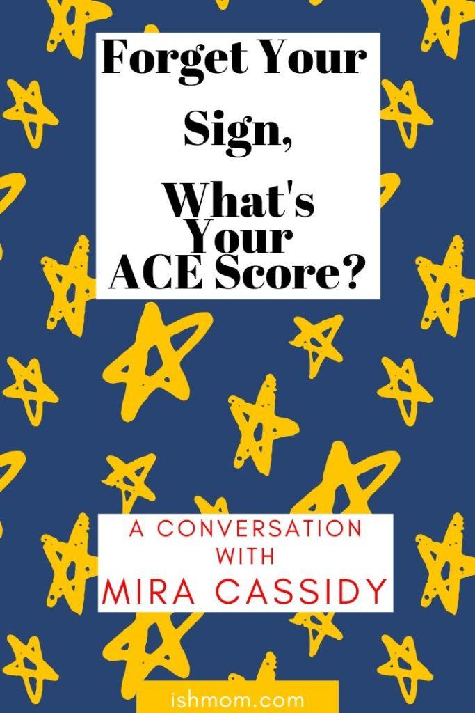 conversation with mira cassidy pinterest graphic