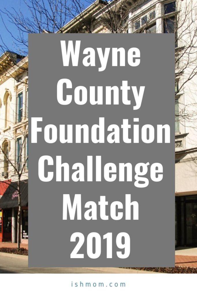 wayne county foundation challenge match 2019 pinterest graphic