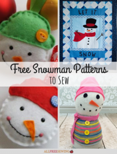 free snowman patterns to sew pinterest graphic