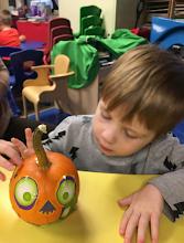 autistic toddler enjoying preschool