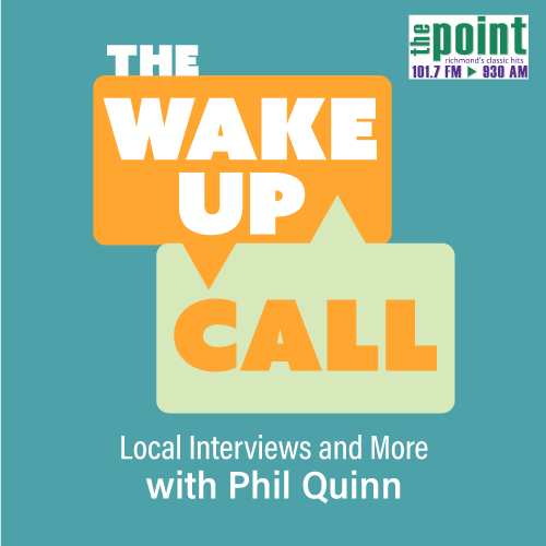 the wake up call local interviews and more with phil quinn on 101.7 The Pint infographic