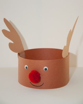 easy toddler christmas craft construction paper reindeer har