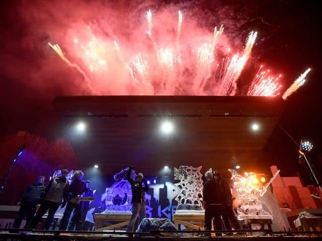 Meltdown showdown big event at the Richmond Meltdown Winter Ice Festival