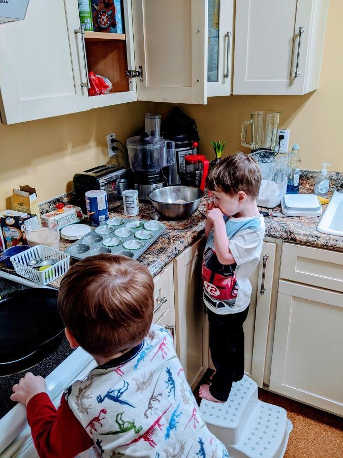 Baking for home preschool schedule