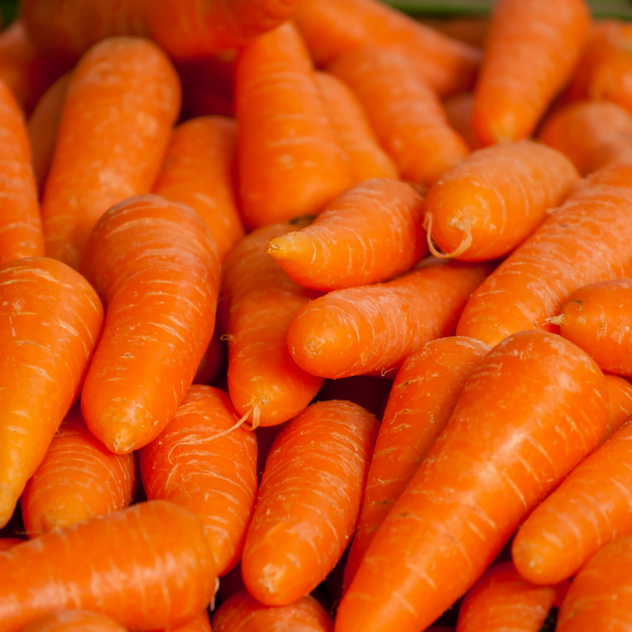 lots of carrots ready for hidden veggie mac and cheese