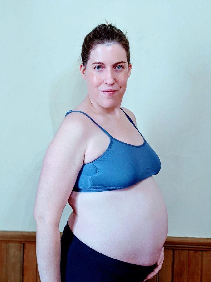 megan 6 months pregnant