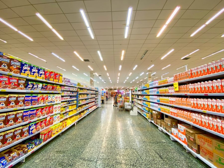 palm oil products at the grocery
