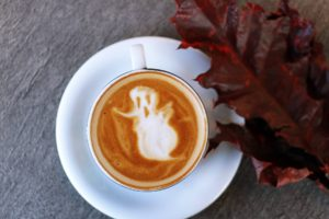 ghostly cup of coffee
