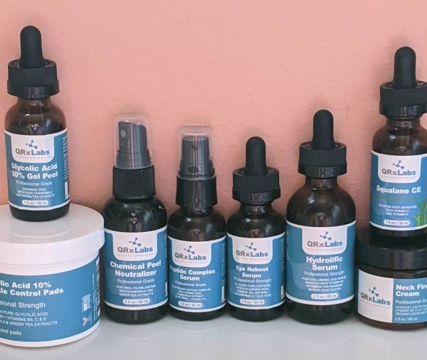 qrxlabs skin care products