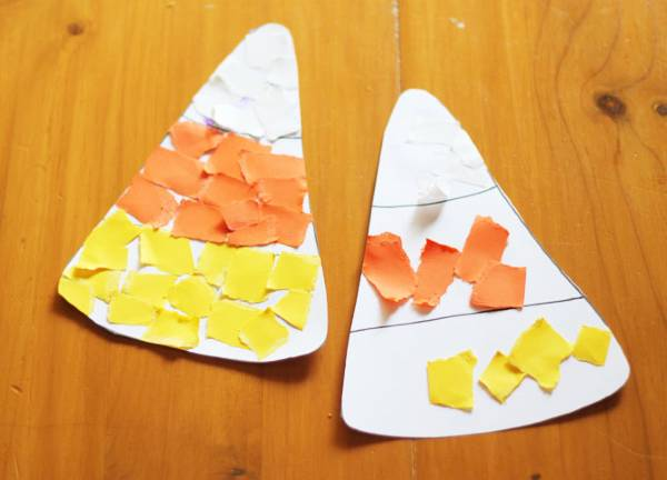 easy developmental Halloween activity for toddlers and preschoolers