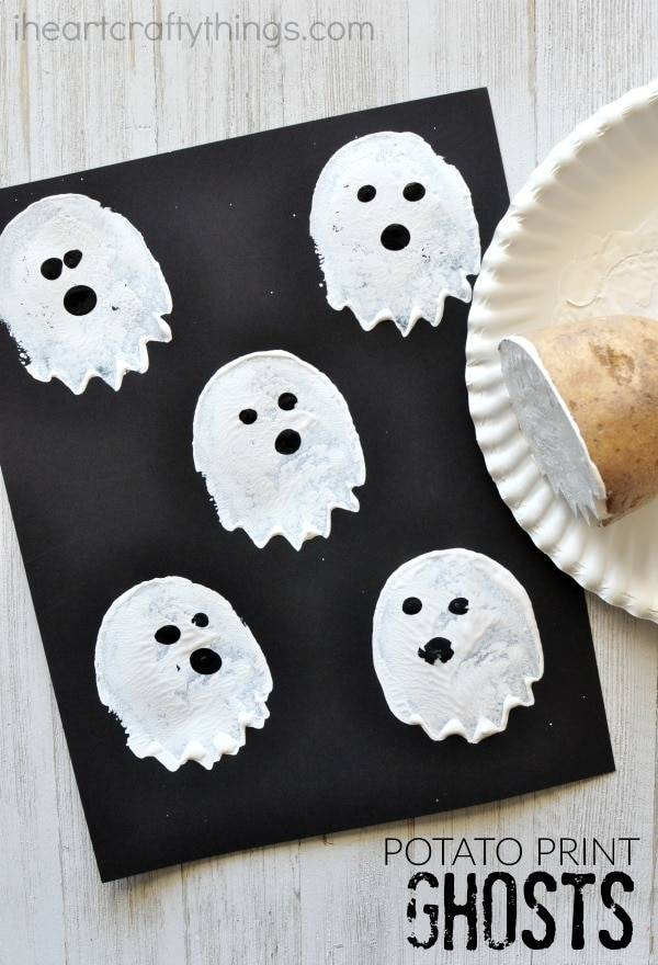 easy developmental toddler halloween activity