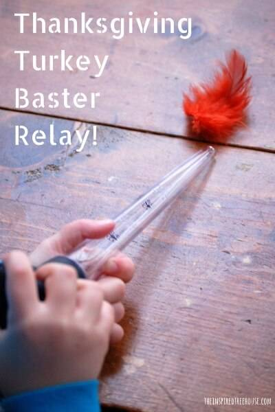 thanksgiving activity turkey baster relay for toddlers and preschoolers