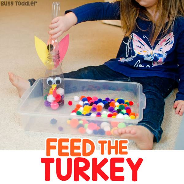 feed the turkey thanksgiving activity for toddlers