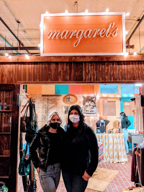 amber parker and hannah abrams, owners of margarets in richmond indiana