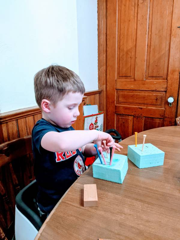 sensory activity for autism