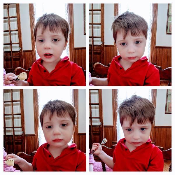 nonverbal child portraits