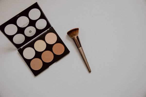 contour and highlight palette for face contouring