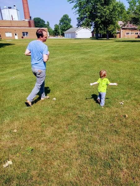 Family enjoying summer 2021 in wayne county indiana