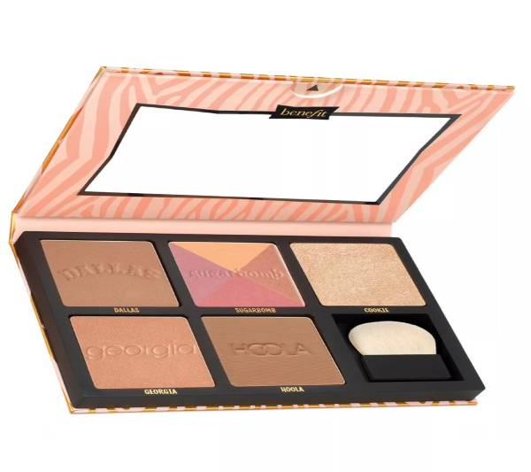benefit cheek stars reunion tour face palette blushes bronzers and highlighter